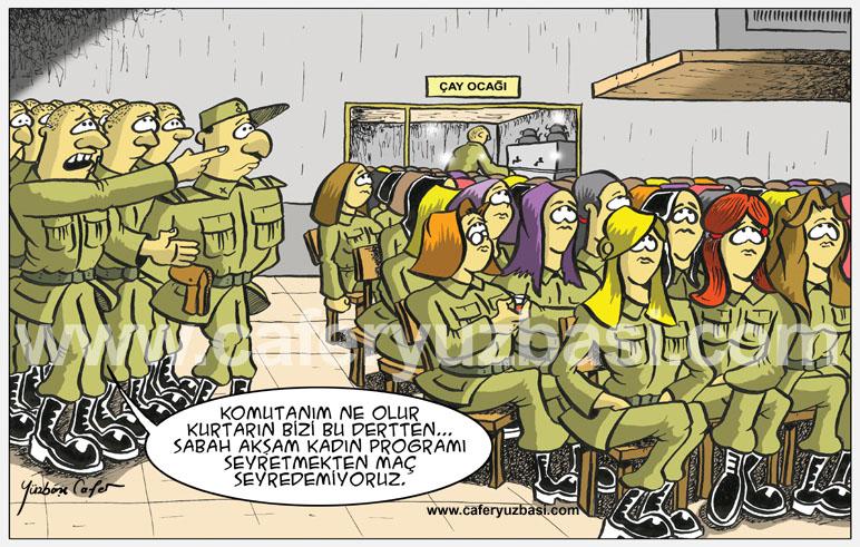 kadin programlari-Kadinlar Asker Olursa?