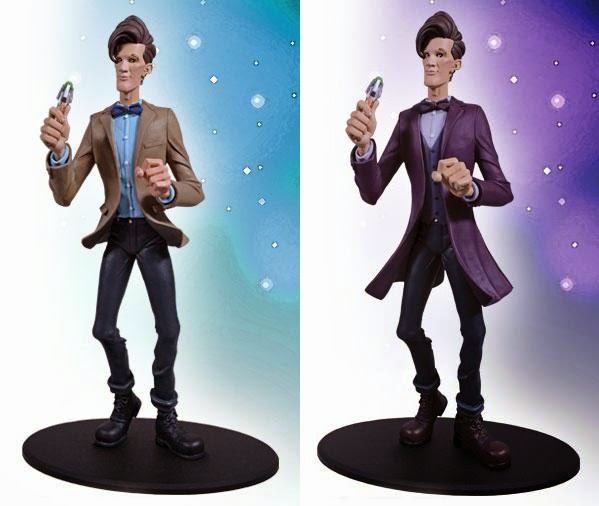 "Eleventh Doctor Dynamix Doctor Who Vinyl Figure by Big Chief Studios - ""Series 5"" & ""Series 7"" Editions"