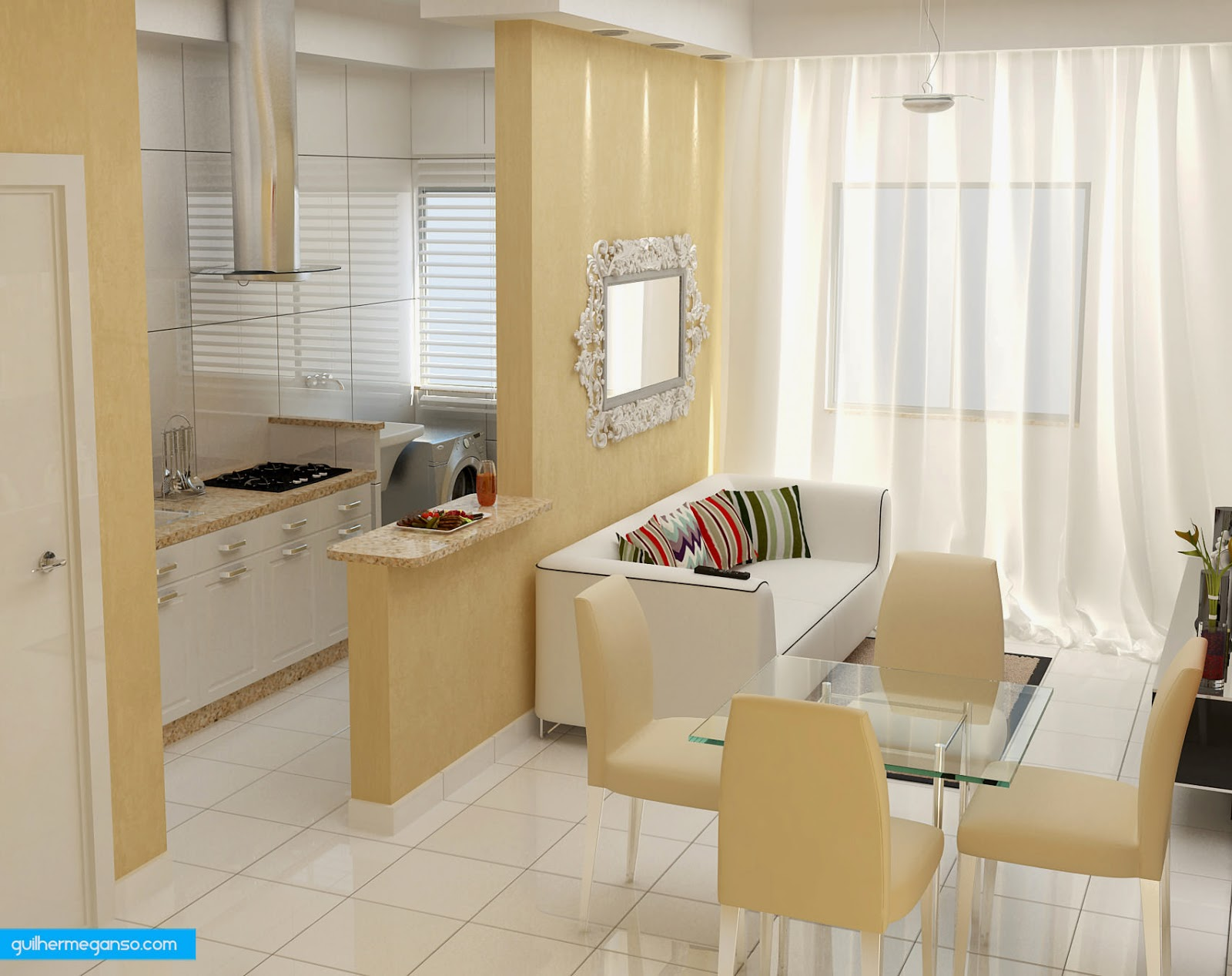 Sala De Estar E Cozinha No Mesmo Ambiente Oppenau Info -> Sala E Cozinha Mesmo Ambiente