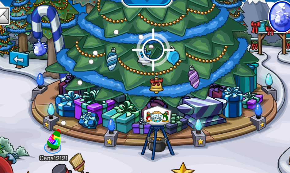 Club Penguin Merry Walrus 2014 Party