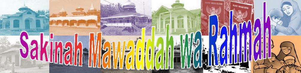 Sakinah Mawaddah wa Rahmah