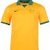 Austrália apresenta camisa titular para a Copa do Mundo