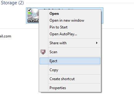 Hướng dẫn giải quyết nhanh vấn đề kẹt đĩa DVD của máy tính 2