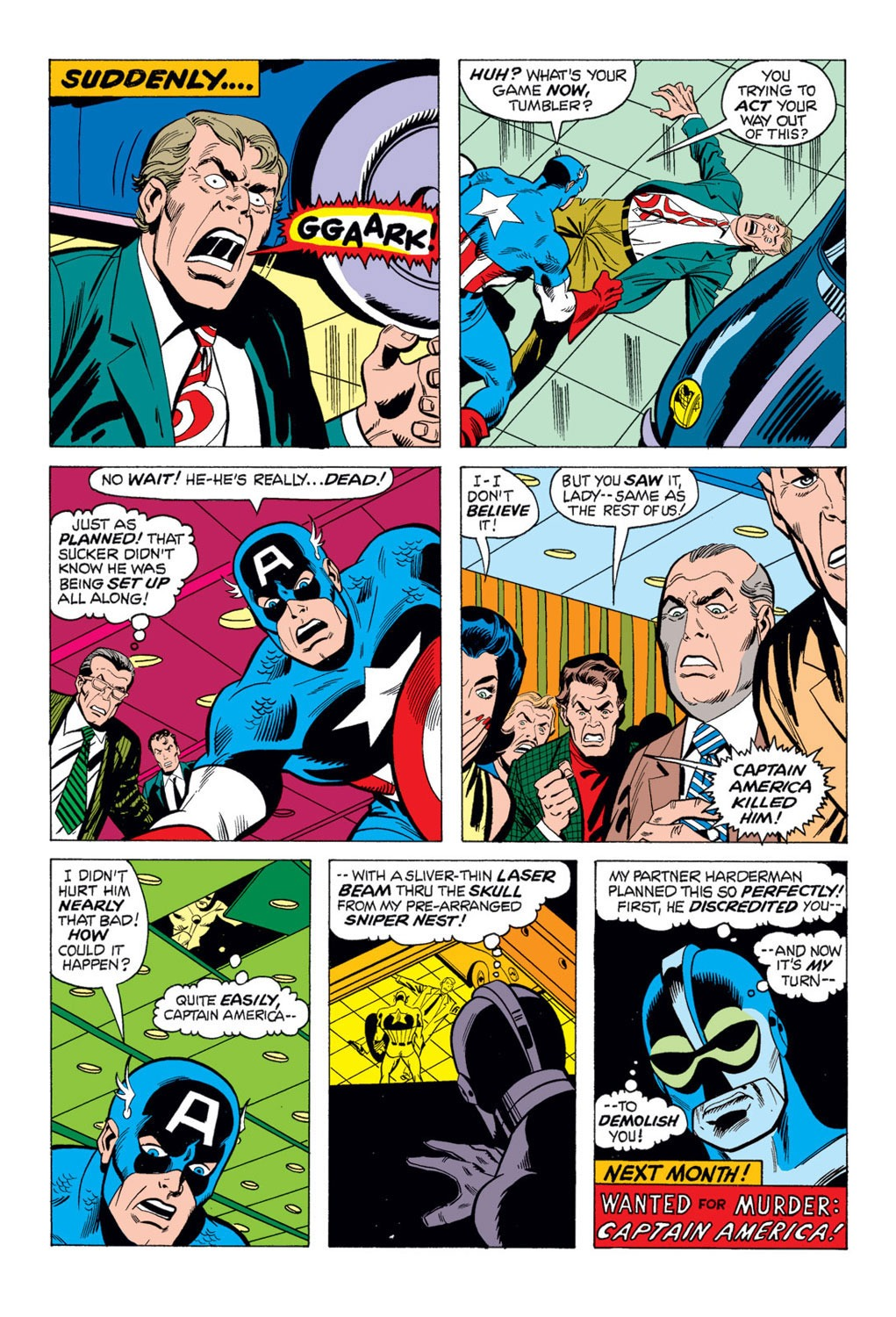 Captain America (1968) Issue #169 #83 - English 20