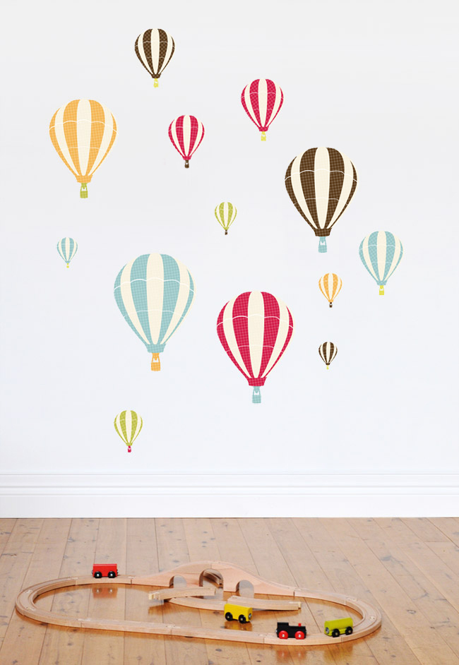 Hot Air Balloon Wall Decals Plus More!