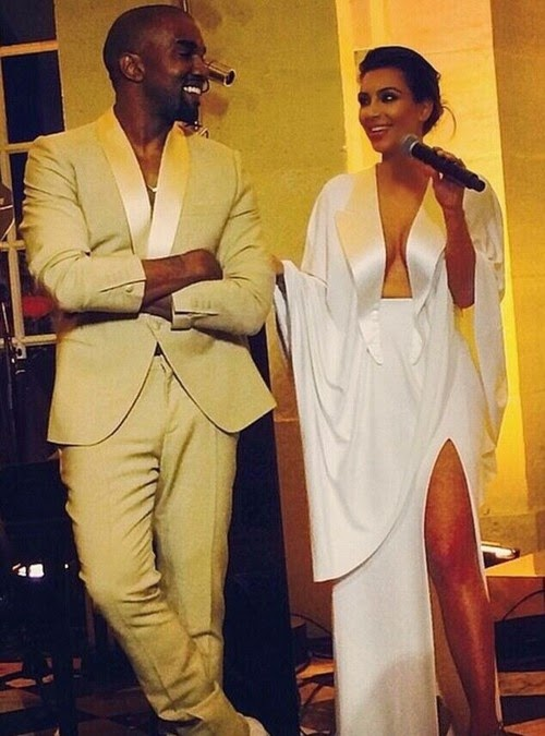 kimye wedding kim kardashian kanye west florence fashion