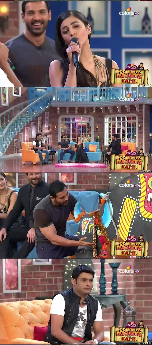 Comedy Nights With Kapil 30th Aug 2015 HDTV 480p
