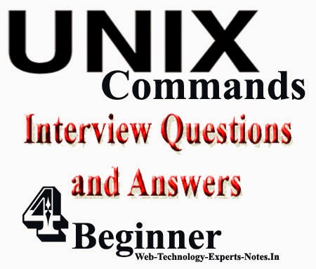 Unix Commands Interview Questions and Answers for beginner