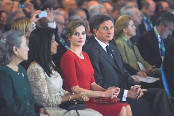 Queen Letizia Attended World Food Day At Milan Expo 2015