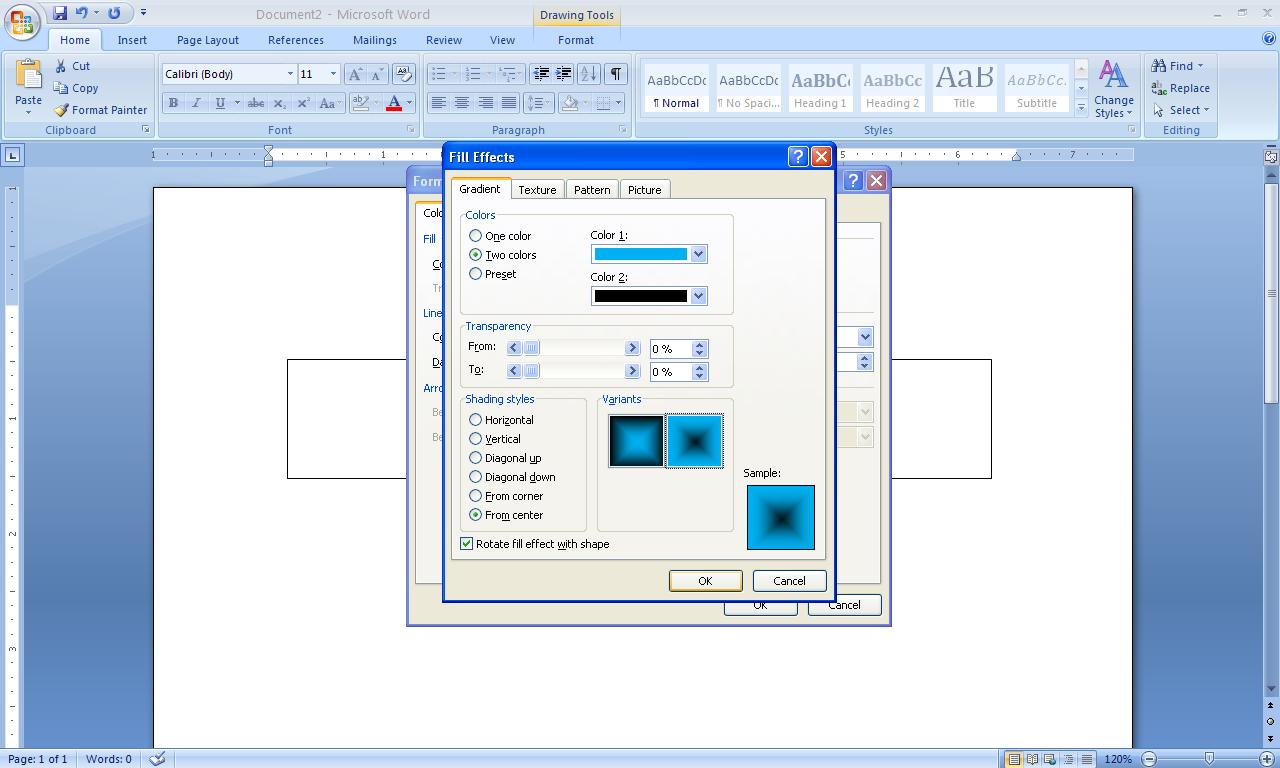 Microsoft Word: Cara Membuat Banner Di Microsoft Word