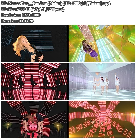 Download MV Kara (카라) - Pandora (판도라) (Melon Full HD 1080p)