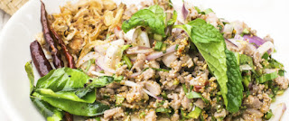 Picture of laap - Lao meat salad by Getty Images