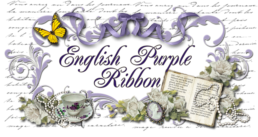 English Purple Ribbon