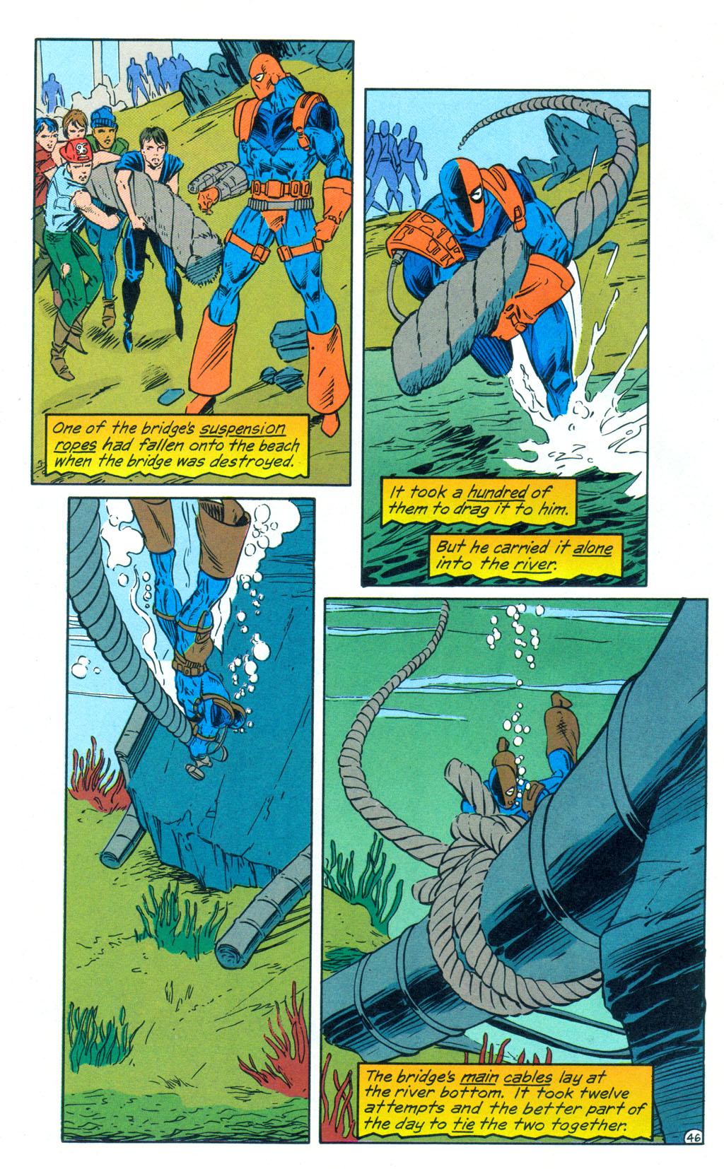 Deathstroke (1991) Annual 3 #3 - English 47