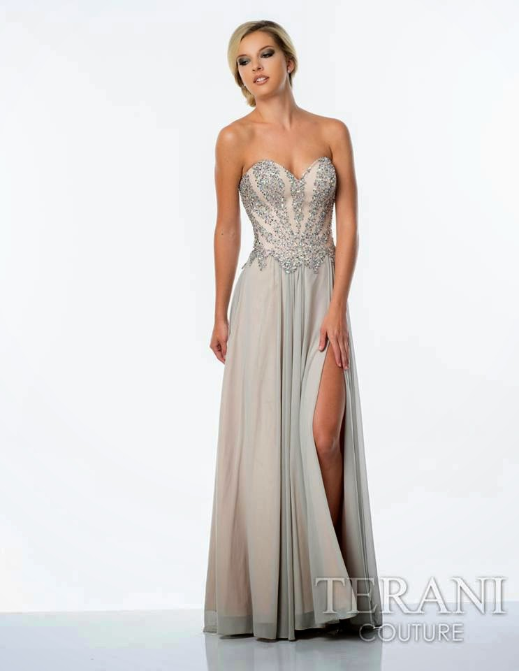Evening gowns 2015 terani couture prom dresses styles99 for A couture dress