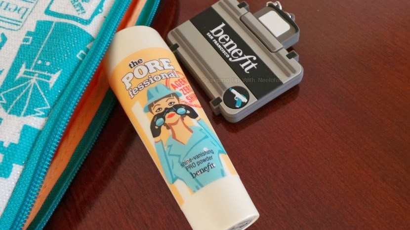 benefit porefessional shine vanishing pro powder review