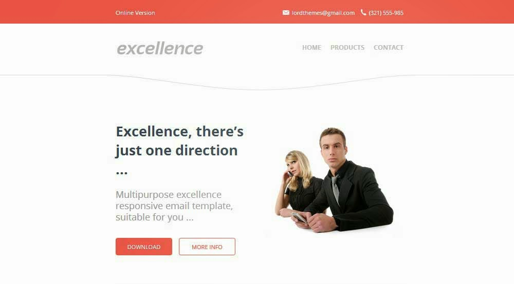 Excellence – Responsive Email Template