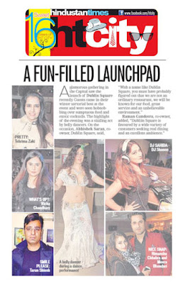 Tarun Shienh News Story in HT City Newspaper