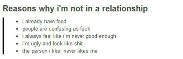 Good Reasons To Be In A Relationship