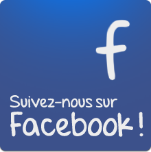 Suivez-vous sur Facebook!
