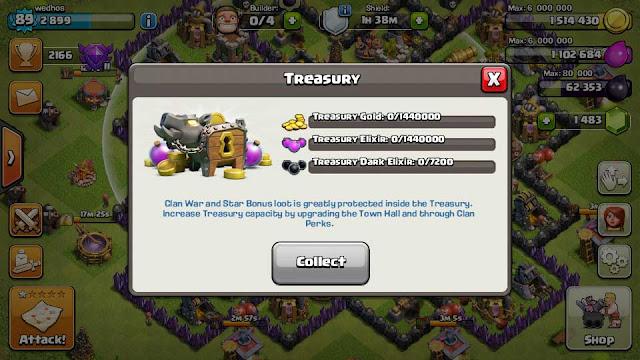 Clash Of Clans mendapat update baru, hadirkan fitur Treasury dan fitur manarik lainnya