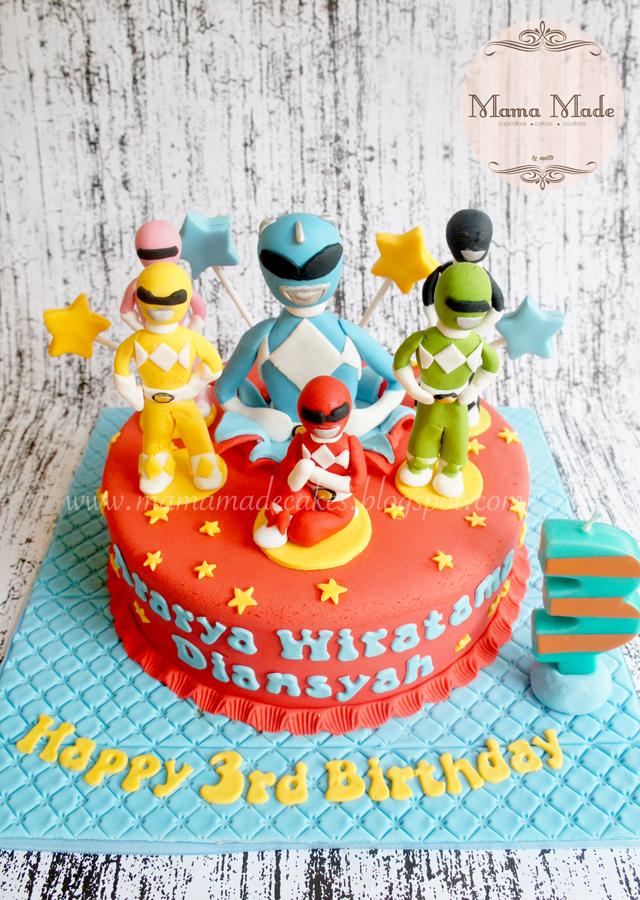 Power Rangers Cake Toppers Ireland