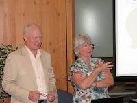 Nigel and Jenny Heath presenting at Consensus Collaboration Scotland 2012