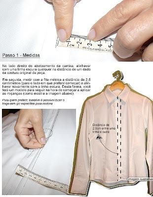 como fazer camisa com apliques de pérolas