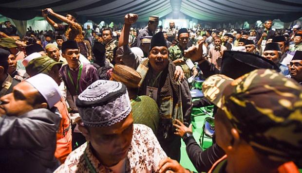 Muktamar NU Ricuh ! Kubu Salahuddin Wahid dan Hasyim Muzadi Bakal Gelar Muktamar Tandingan