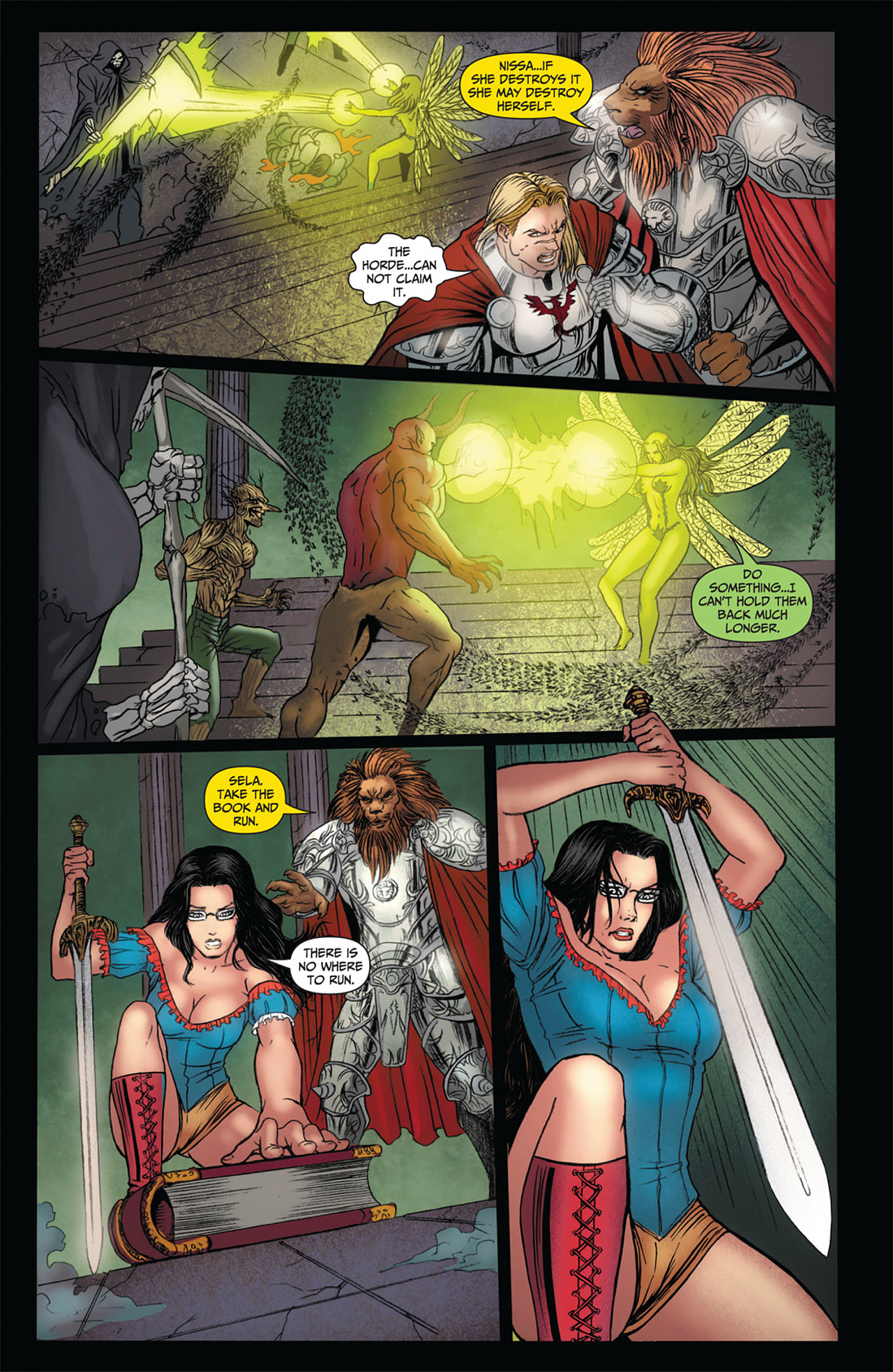 Grimm Fairy Tales (2005) Issue #50 #53 - English 35
