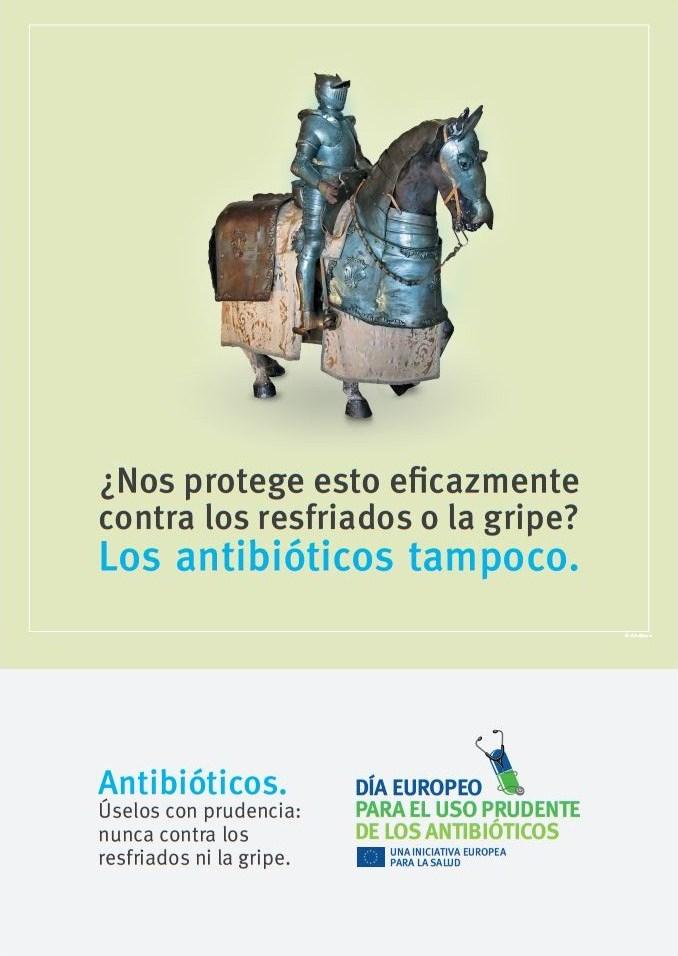 Los antibióticos no funcionan contra el resfriado ni la gripe