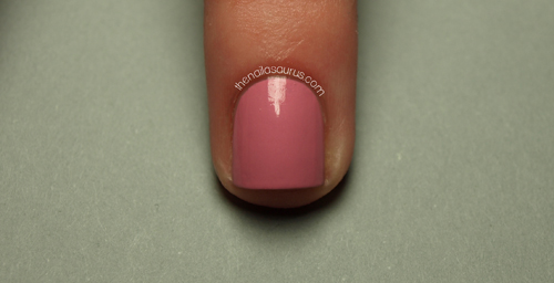 Striping tape manicure tutorial the nailasaurus uk nail art blog youll need at least two nail polishes mine are tiger lily from primark and china glaze pink ie promise a top coat some tweezers striping tape and a prinsesfo Image collections