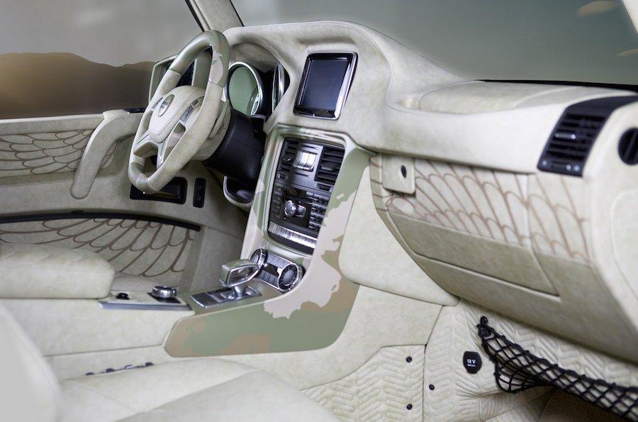ワイルド過ぎて方向性が分からない、マンソリーの「G63 AMG サハラ・エディション」