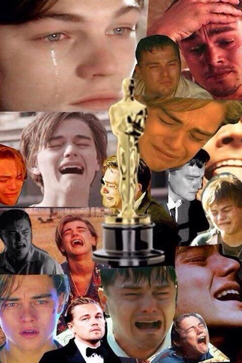 Leonardo Dicaprio y el Oscar