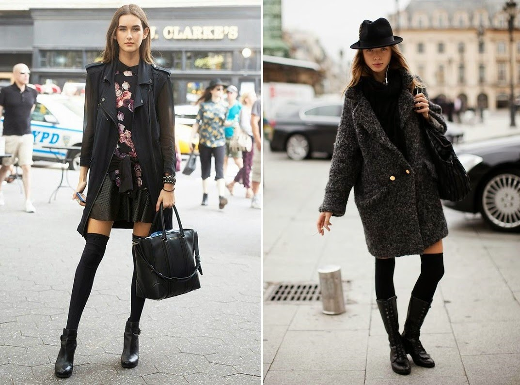 thigh-high-socks-black-coat-street-style-spring