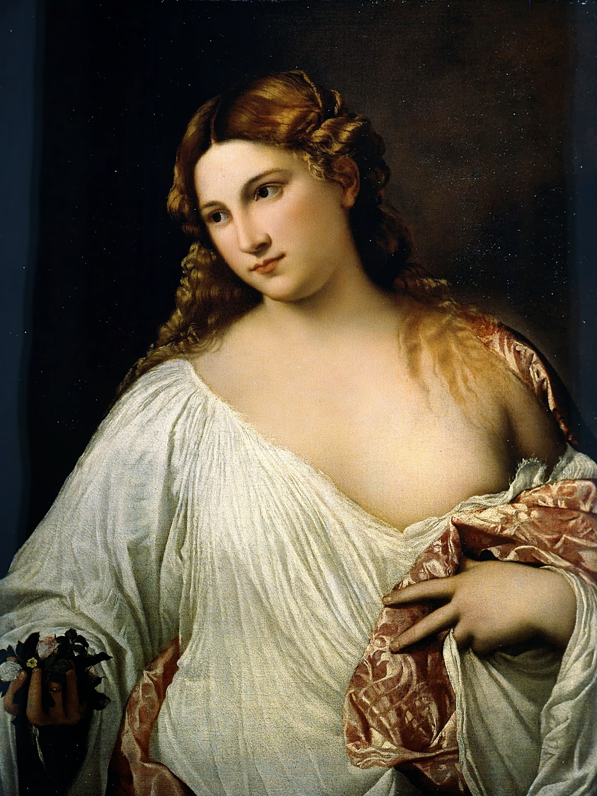 "Picture of ""Flora"" by Titian, 1517"