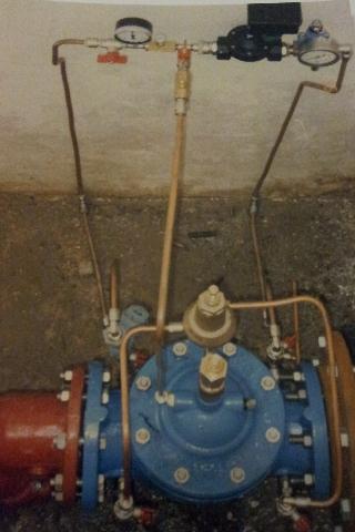 válvula automática para restricciones de agua