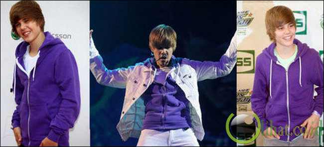 Kostum Ungu Khas Bieber