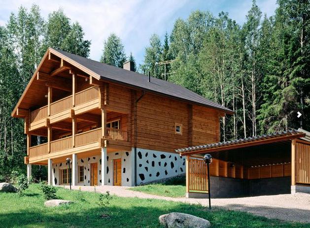 Casas prefabricadas de madera y piedra imagui - Fotos de casas de madera y piedra ...