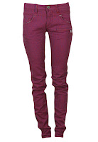 Pantaloni Pull and Bear Outy Dark Pink (Pull and Bear)