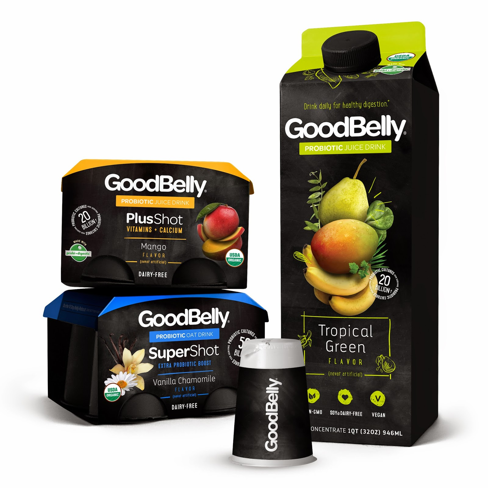 GoodBelly Enter for a Chance to Win Good Belly Tropical Green