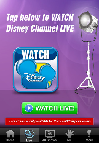 WATCH Disney Channel App for iPhone and iPad