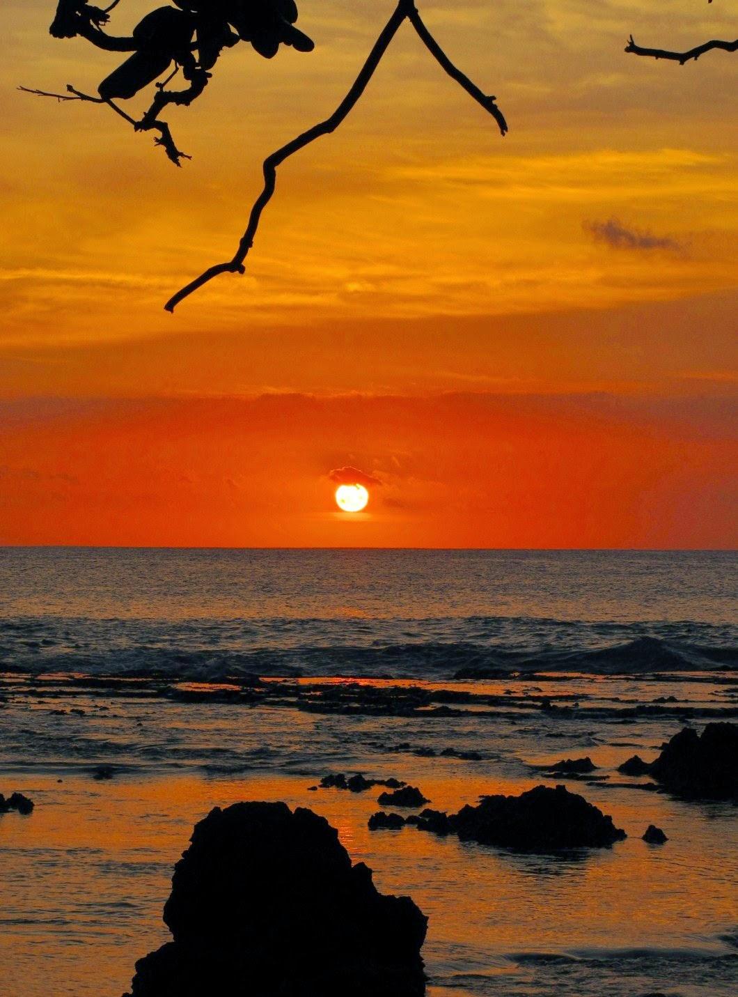 Peucang Island Karang Copong Sunset