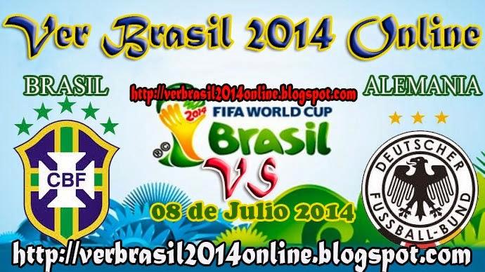 Brasil vs Alemania | SemiFinales | Mundial Brasil 2014 | Martes 08 de Julio de 2014