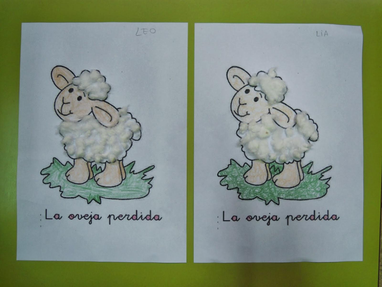 Aula de Religión: La oveja perdida (Infantil 3 años)