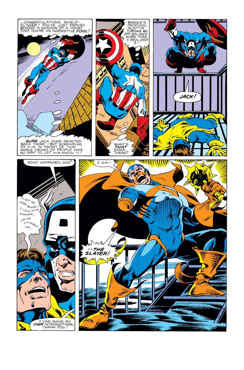 Captain America (1968) Issue #293 #221 - English 19