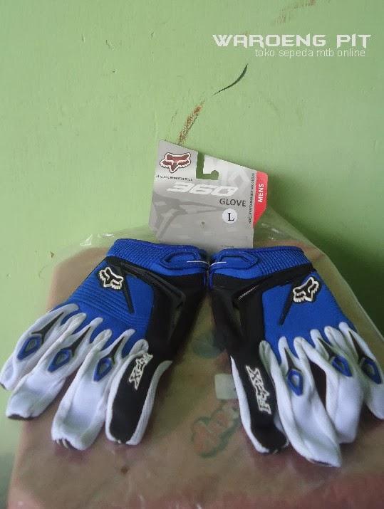 Sarung Tangan Fox Glove Merah Sepeda Mtb Bmx Gunung Murah