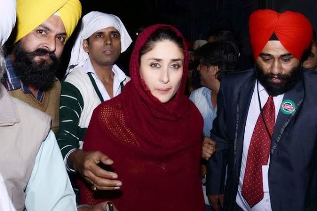 Kareena Kapoor at Golden Temple