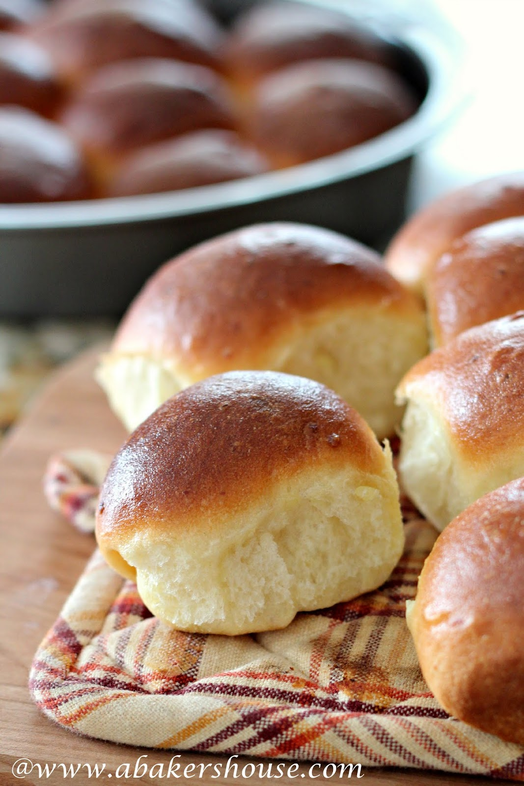 Potato Roll from www.abakershouse.com