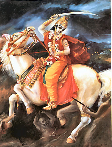 The historical legend ascribes that the district has been named as per    Kalki Avatar 2012